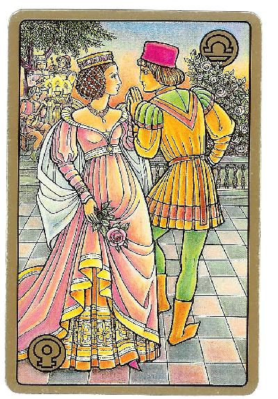 Carte Tarot Symbolon - Balance - Le Partenaire - Daphnée Seurin - Astrologue