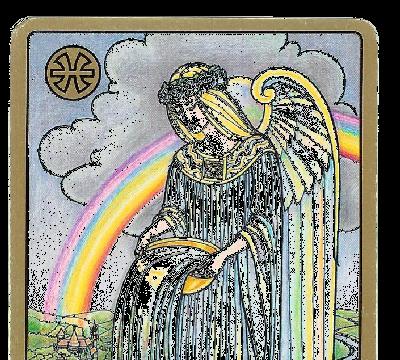 Carte Tarot Symbolon - Signe poisson - Daphnée Seurin - Astrologue