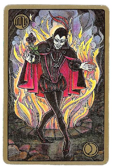 Carte Tarot Symbolon - Scorpion - Le Séducteur - Daphnée Seurin - Astrologue