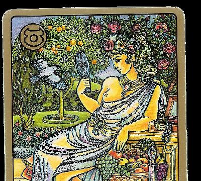 Carte Tarot Symbolon - Taureau - La Bien Aimée - Daphnée Seurin - Astrologue