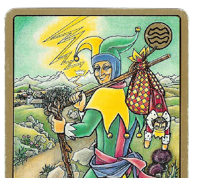 Carte Tarot Symbolon - Le Signe - Signe poisson - Daphnée Seurin - Astrologue
